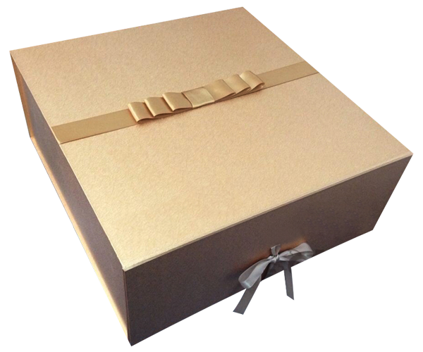 Foldable gift boxes with ribbon custom boxes gift boxes foldable gift boxes with ribbongold negle Choice Image